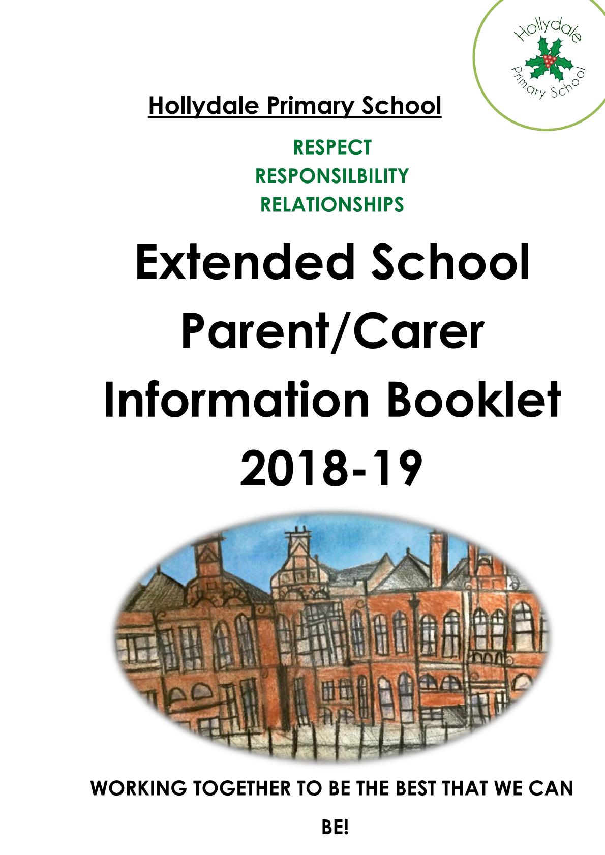 Extended Services ParentCarer Handbook