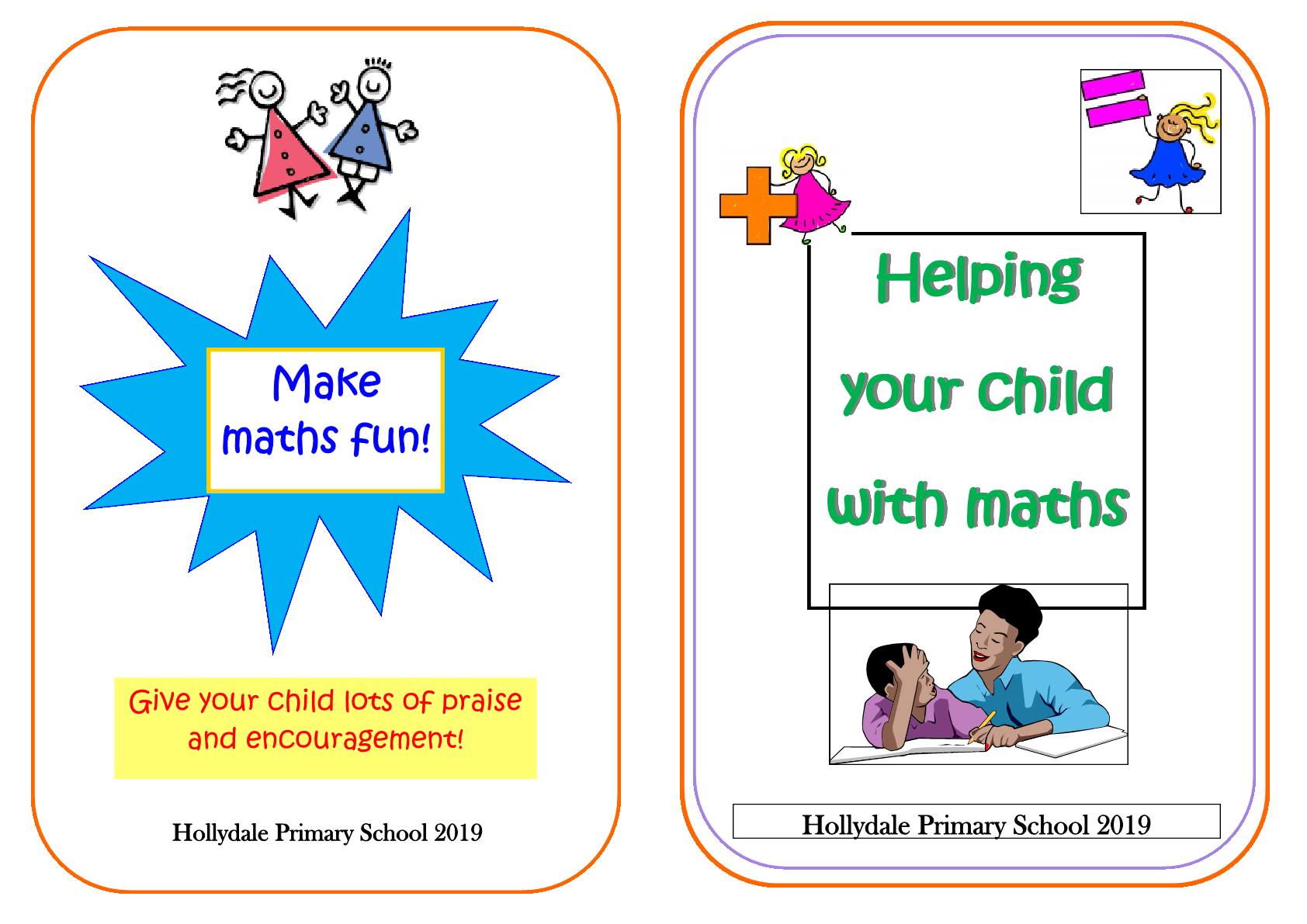 Numeracy Booklet for Parents